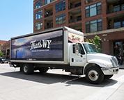 Mobile Billboards | Truck Side Advertising from AllOver Media