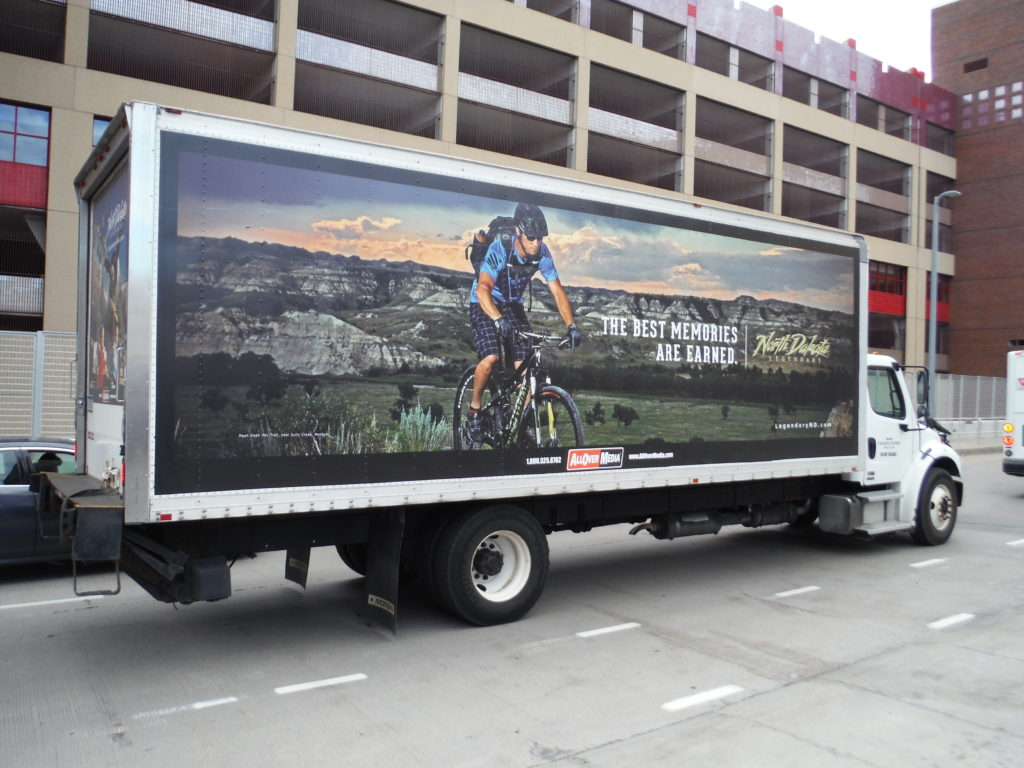 mobile billboard truck ads