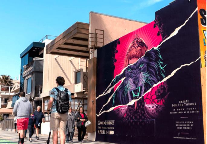 Painted Mural in LA