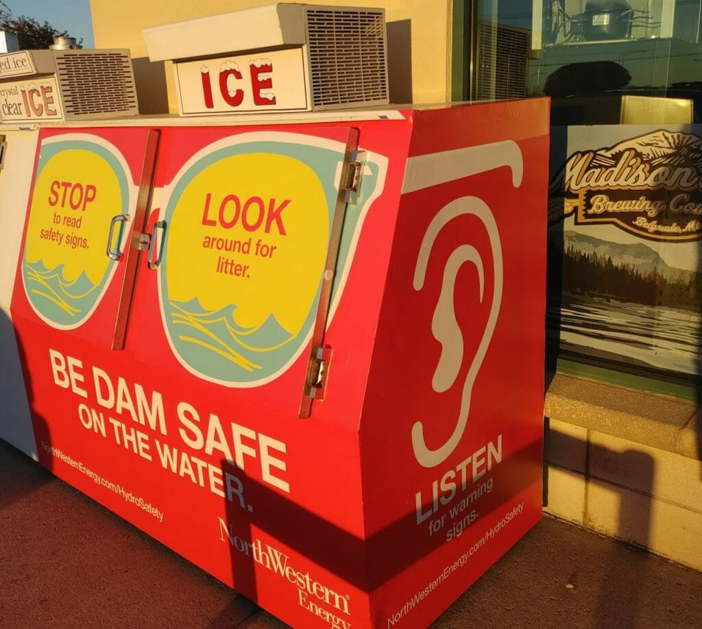 Ice box advertising can help your messaging stand out on a hot summer's day!